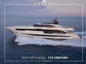 Used Astondoa 110 Century Motor Yacht For Sale