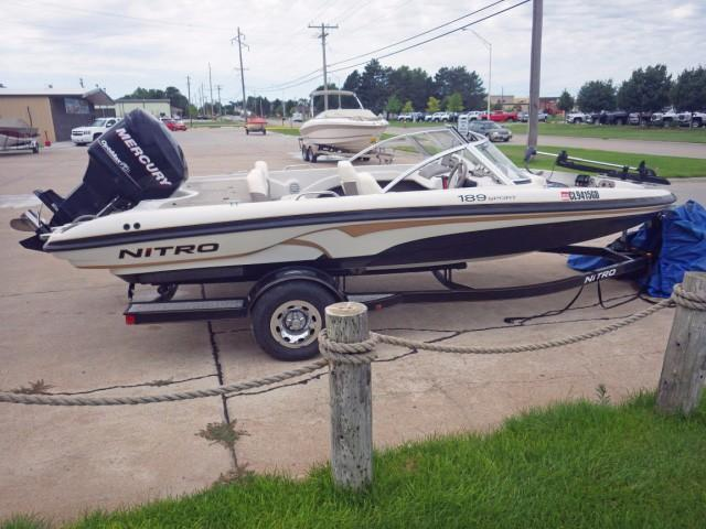 2010 used nitro 189 sport ski and fish boat for sale for Fish and ski boats for sale