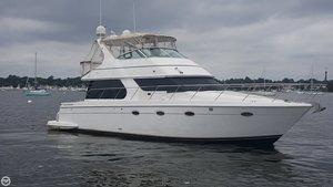 Used Carver 450 Voyager Cruiser Boat For Sale