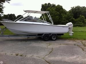 Used Seacraft Sceptre 23 Skiff Fishing Boat For Sale