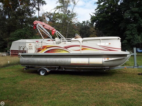 Used Starcraft 206 Limited Pontoon Boat For Sale