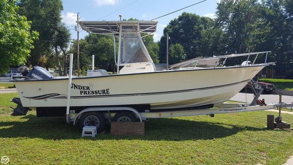 Used Palm Beach 235 Whitecap Center Console Fishing Boat For Sale
