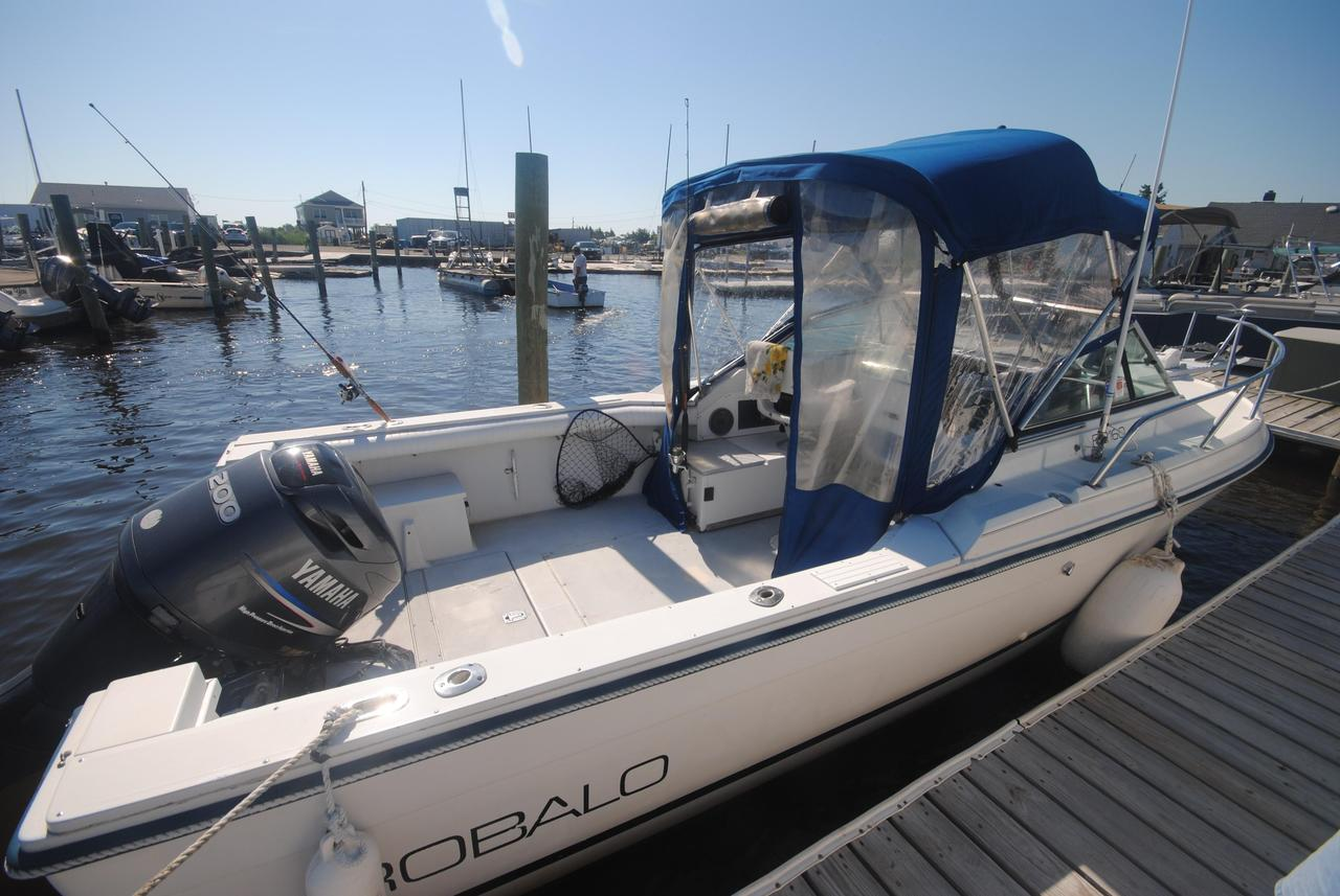 1988 used robalo 2160 with 2005 yamaha 200 hpdi saltwater for Used outboard motors nj