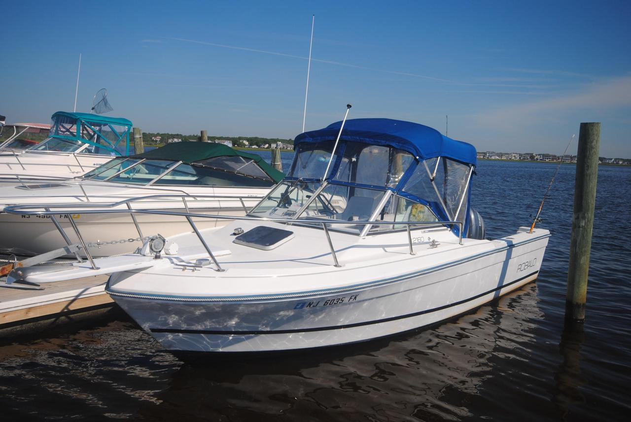 1988 used robalo 2160 with 2005 yamaha 200 hpdi for Fishing boats for sale nj