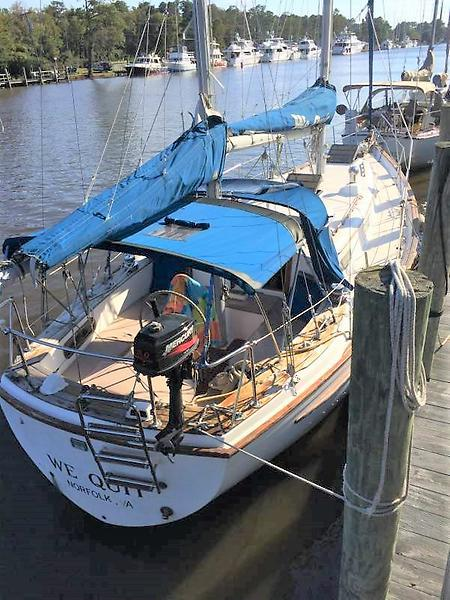 Full Force Diesel >> 1981 Used Pearson 365 Cruiser Sailboat For Sale - $24,900 ...