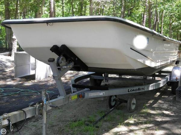 Used Carolina Skiff DLX 2180 Skiff Fishing Boat For Sale