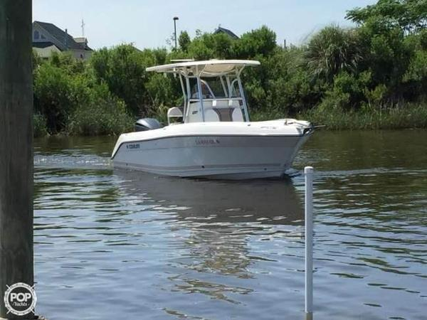 Used Century 2301 CC 23 with Trailer Center Console Fishing Boat For Sale