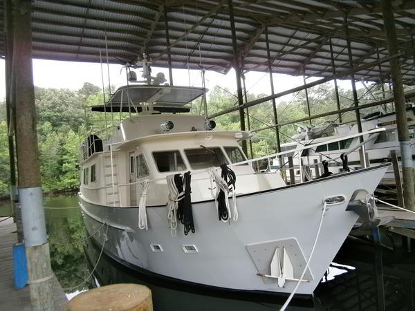 Used Palatka 60 Steel Trawler Motor Yacht For Sale