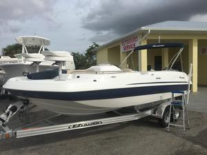 New Hurricane 232 Deck Boat For Sale