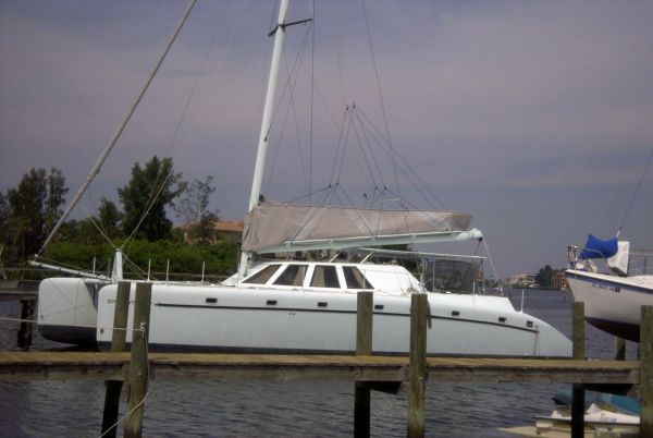 Used Custom 60' Custom Catamaran 60 Catamaran Sailboat For Sale