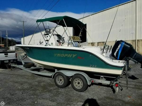 Used Trophy 2103 Center Console Fishing Boat For Sale