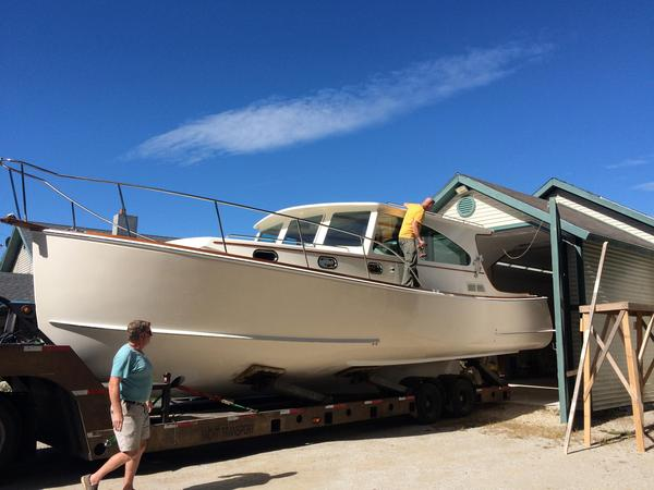 New Morgan Bay Downeast Cruiser Downeast Fishing Boat For Sale