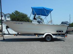 Used Defiant 18 Cat Center Console Fishing Boat For Sale