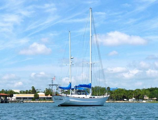 Used Nautical Development Corp Stevens 56 Cruiser Sailboat For Sale