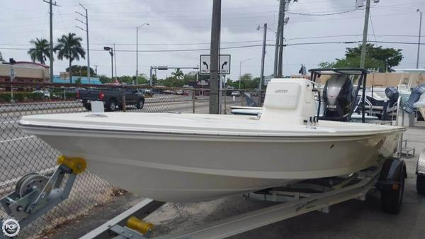 Used Hewes Redfisher 18 Flats Fishing Boat For Sale