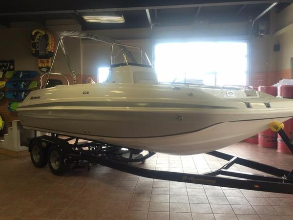 New Hurricane Center Console 21 OB Deck Boat For Sale