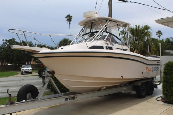 Used Grady-White Voyager 248 Saltwater Fishing Boat For Sale