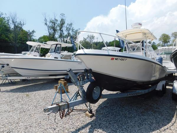 Used Mako 221 Center Console Saltwater Fishing Boat For Sale