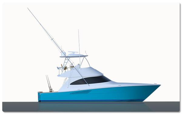 New Viking 44 Convertible Fishing Boat For Sale