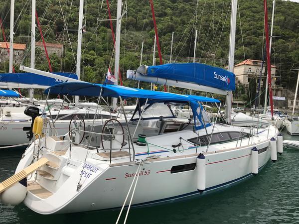 Used Jeanneau 53 Cruiser Sailboat For Sale