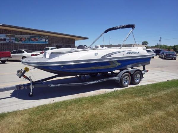New Starcraft Star Step 221 I/O Deck Boat For Sale