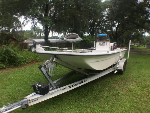 Used Southern Skimmer 2170 Flats Fishing Boat For Sale