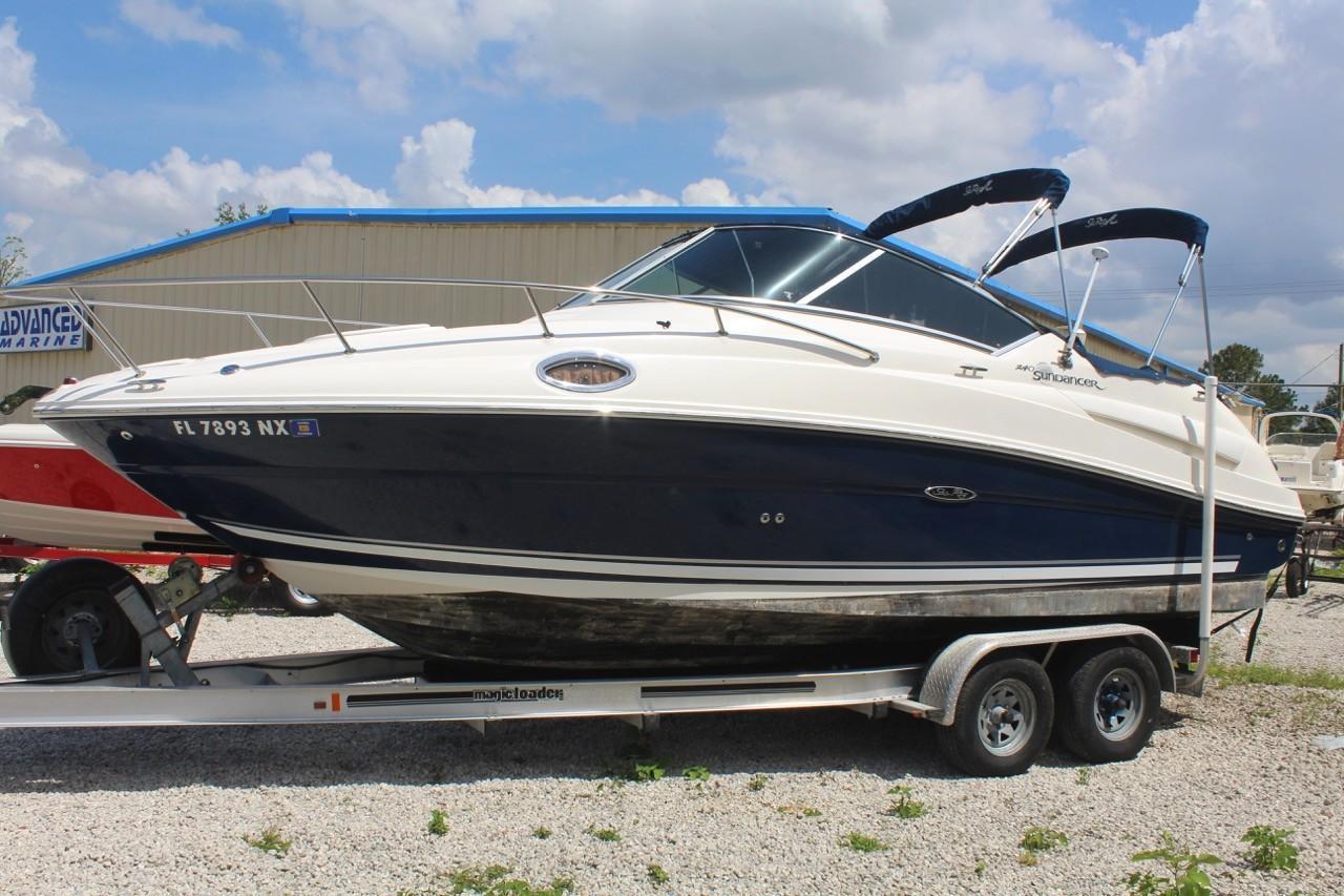2008 used sea ray 240 sundancer cuddy cabin boat for sale
