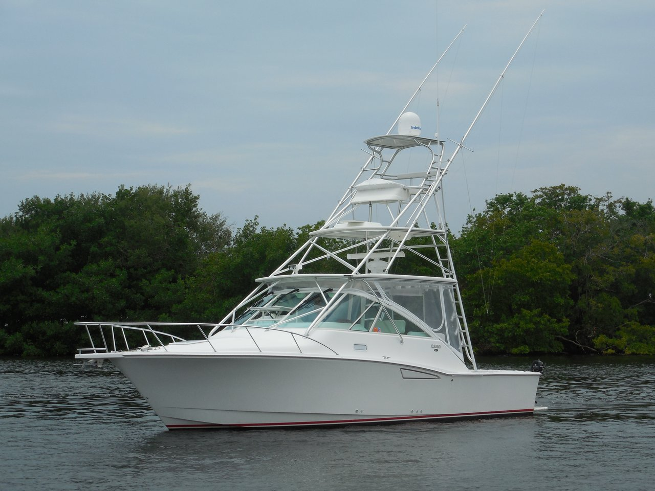 2006 used cabo 35 express sports fishing boat for sale for Express fishing boats for sale