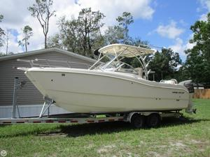 Used World Cat 255 DC Power Catamaran Boat For Sale