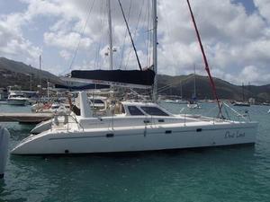 Used Voyage Yachts 450 Catamaran Sailboat For Sale