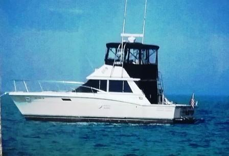 Used Trojan F-36 Convertible Fishing Boat For Sale