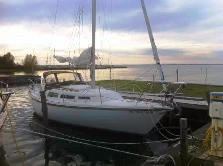 Used Catalina 27 Sloop Sailboat For Sale