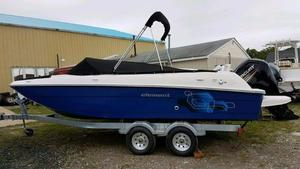 New Bayliner Element E21 Deck Boat For Sale