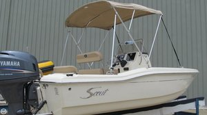 Used Scout Sportfish 187 Center Console Fishing Boat For Sale