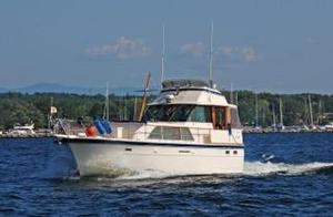 Used Hatteras Double Cabin Trawler Boat For Sale
