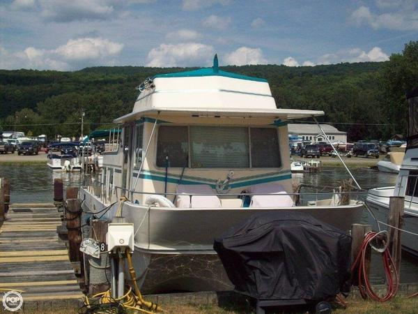 Used Holiday Mansion 39 House Boat For Sale