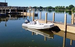 Used Zodiac Yachtline 380 Rigid Sports Inflatable Boat For Sale
