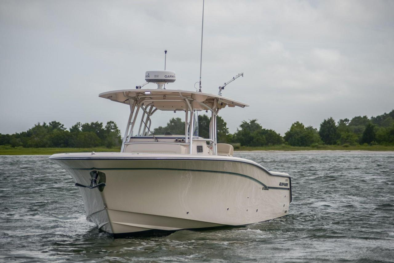 2013 used grady white canyon 336 saltwater fishing boat for Used fishing boats for sale in eastern nc