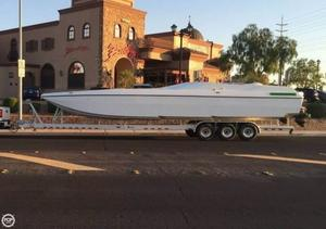Used Awesome 38 Signature Power Catamaran Boat For Sale