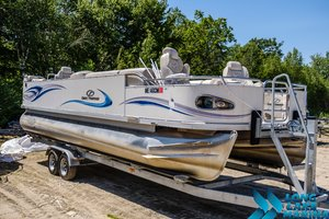 Used Crest 27 Savannah LS/LST Pontoon Boat For Sale