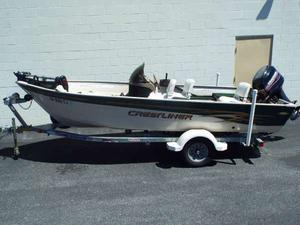 Used Crestliner Angler 16 SC Freshwater Fishing Boat For Sale