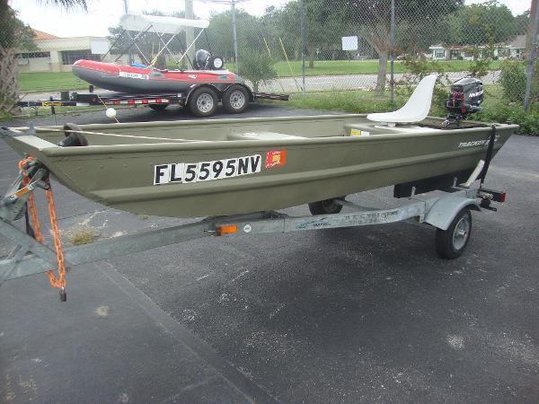 2008 Used Tracker Aluminum Fish Boat Aluminum Fishing Boat