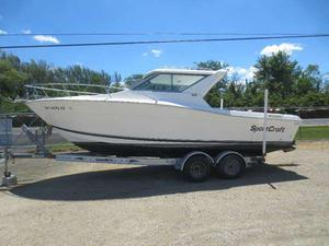 Used Sportcraft 232 Express Freshwater Fishing Boat For Sale