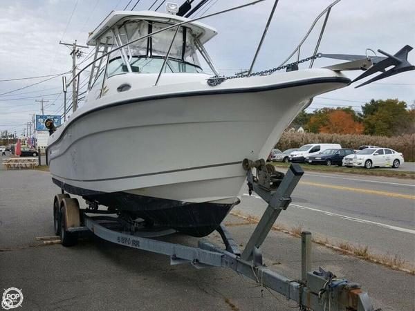 Used Seaswirl Striper 2601 Walkaround Fishing Boat For Sale