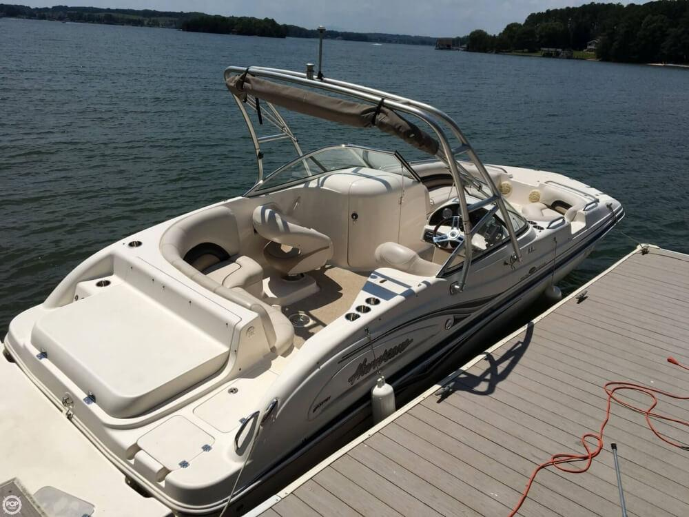 2006 used hurricane 237 sundeck deck boat for sale for Hurricane sundeck for sale