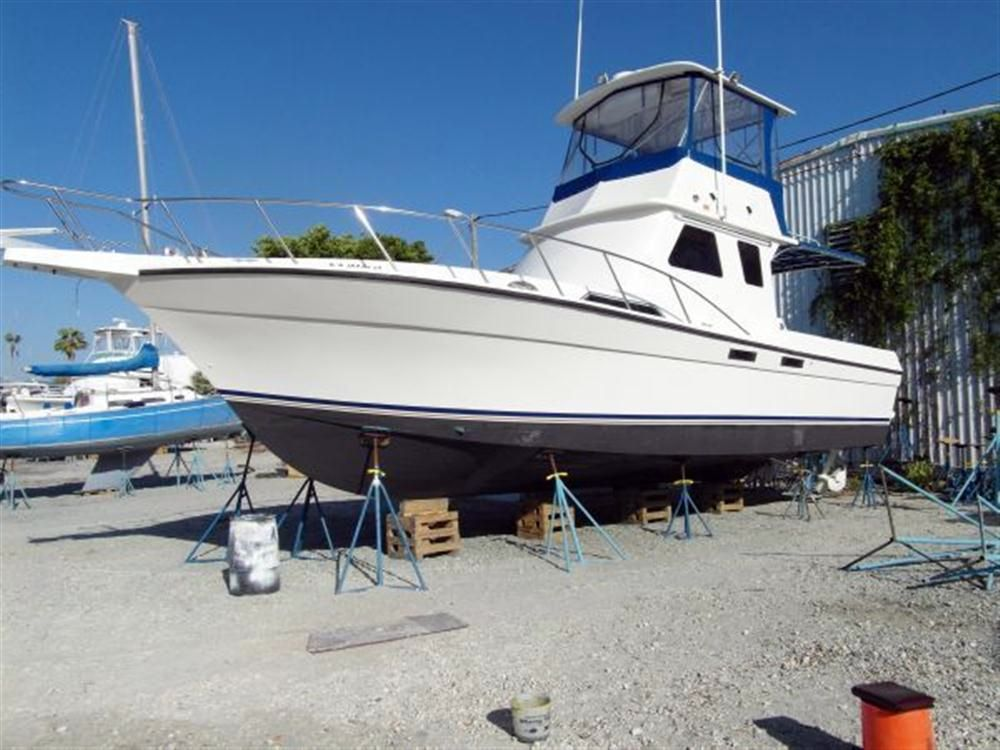 1995 used custom sport fish diesel sports fishing boat for for Fishing pontoons for sale