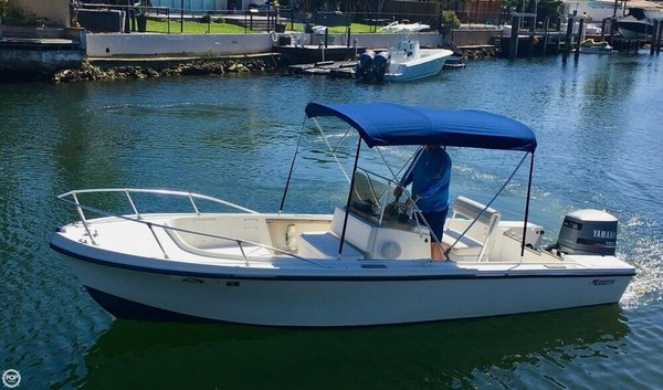Used Mako 20B Center Console Fishing Boat For Sale