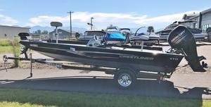 Used Crestliner VT 17 Aluminum Fishing Boat For Sale