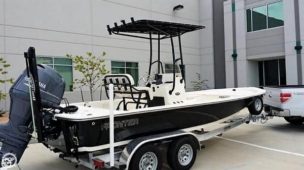 Used Frontier 2104 CC Center Console Fishing Boat For Sale