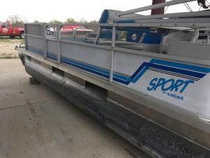 Used Crest Sport Pontoon Boat For Sale